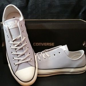 Converse All Star Leather OX Wolf Grey